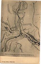CPA MORBIER-MOREZ - Plan de la Section de Voie ferrée (211648)