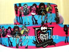 """Monster High Ribbon 1"""" Wide 1m is only £0.99 NEW"""