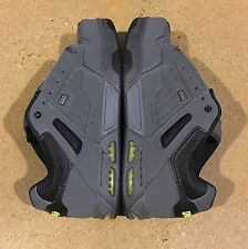 DVS Enduro Heir Size 12 Grey Lime Black Trubuck Militia Havoc BMX DC Skate Shoes