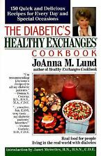 The Diabetic's Healthy Exchanges Cookbook (Perigee), Lund, JoAnna M., Good Book