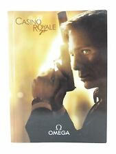 OMEGA WATCHES JAMES BOND 007 CASINO ROYALE 2006 LIMITED EDITION WATCH BROCHURE