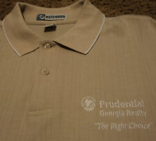 NEW Mens PRUDENTIAL GEORGIA REALTY Polo Golf Shirt NWOT XL