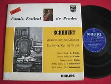 VG++ LP - CASALS FESTIVAL DE PRADES SCHUBERT - PHILIPS STEREO - MADE IN COLOMBIA