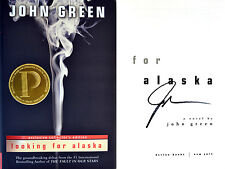 John Green~SIGNED~Looking for Alaska~1st/1st Exclusive Collector's Ed+Photos!