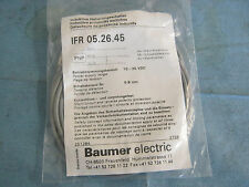 Baumer Electric Model:  IFR05.26.45 Proximity Sensor.  New Old Stock