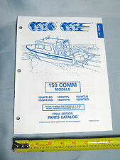Johnson Evinrude 150 COMM Outboard Boat Motor Parts Catalog P/N 437497, 0437497