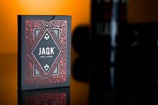 1 decks  JAQK Red Playing Cards Deck THEORY 11
