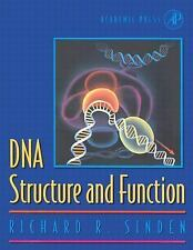 DNA Structure and Function by Richard R. Sinden (1994, Hardcover)