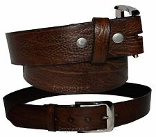 Men's Belt. Size XX Large. Solid Leather Belt. Men's Brown Strong Leather Belt