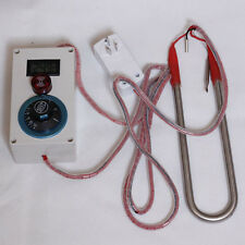 2000w Leakage Alarm Stainless Steel Immersion Water Heater Liquid Heating 240V