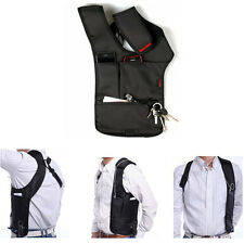 Anti-Theft Hidden Underarm Shoulder Bag Inspector Holster Phone Card Case Wallet