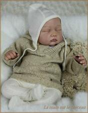"Reborn Doll Kits Soft Vinyl Limbs For Making 20-22"" Newborn Baby Dolls"