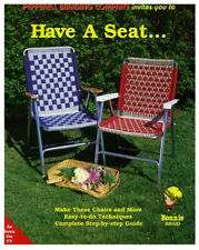 Macrame LAWN CHAIR patterns workbook: hammock; plant hanger, lounger, weaving