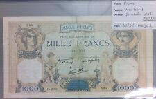 BILLET 1000 FRANCS CERES ET MERCURE - 20-10-1938*