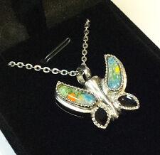 """Crémation Cendres Urne Souvenir collier bijoux """"rainbow butterfly"""""""