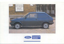 Ford Fiesta Van Original colour Postcard Pub. No. FB 1523