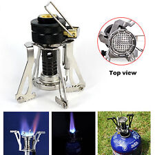 Portable Gas Camp Stove Auto Lgnition Cooker Hiking Outdoor Foldable Backpacking