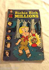 RICHIE RICH MILLIONS HARVEY COMIC #19 SEPT 1966 GIANT SIZE FN+