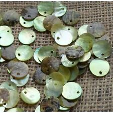 100 x 15mm chaux shell disc beads