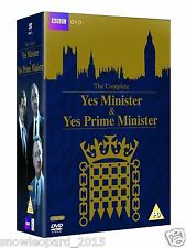 YES MINISTER PRIME MINISTER COMPLETE SERIES COLLECTION DVD BOX SET NEW UK R2