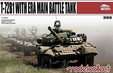 ModelCollect UA72011 1/72 T-72B1 with ERA Main Battle Tank