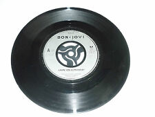 "BON JOVI - Livin' On A Prayer - Rare 1986 UK 7"" Juke Box Vinyl Single"