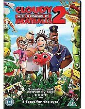 Cloudy WIth A Chance Of Meatballs 2. DVD Top Action Movie. Bargain **£2**