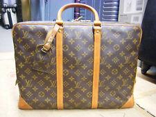 Auth-Louis-Vuitton-Monogram-Documen-Vowayaju-M53361-Briefcase-Dust-Bag-