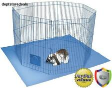 Garden Hutch Run Large Rabbit Outdoor Indoor Cage Guinea Pig Ferret Playpen Mat