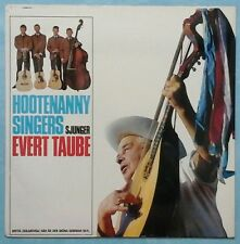 [ABBA] HOOTENANNY SINGERS~SJUNGER EVERT TAUBE~1979 SWEDISH 12-TRACK LP RE-ISSUE