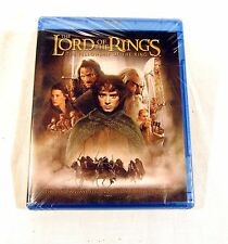 NEW Sealed The Lord Of The Rings The Fellowship Of The Rings Blu Ray DVD Movie