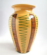 Ancien Vase Soufflenheim Poterie Alsace Vintage French Pottery