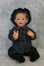 "Antique 24"" Kestner JDK 226 Character Baby Doll Sweet Expression Nice Large Size"