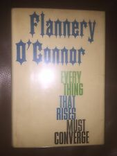Flannery O'Connor Everything That Rises Must Converge First Edition