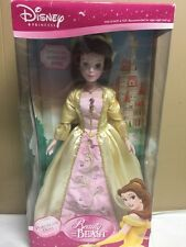 Disney Princess Belle Porcelain Brass Key Doll 18 inches Special Edition Size