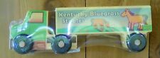 Wooden SEMI Truck Kentucky Bluegrass Horse Stable TOY  Montgomery SchoolhouseNew
