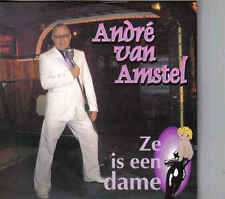 Andre Van Amstel-Ze Is Een Dame cd single