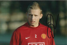 MANCHESTER UNITED HAND SIGNED RITCHIE DE LAET 6X4 PHOTO.
