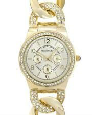 MARCEL DRUCKER Brand New Day date Watch With Genuine Crystals !!!