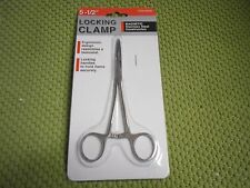 "5.5"" Locking Hemostat Clamp Magnetic Stainless Steel Surgical Medical Type Clip"