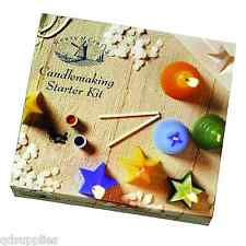 CANDLE Making STARTER KIT House Of Crafts Set Regalo Cera Stampi istruzioni 220