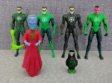 DC UNIVERSE GREEN LANTERN LOT OF 5 LOOSE ACTION FIGURES MOVIE SINESTRO GUARDIAN