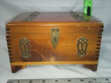 "Vintage Cedar ""Merchants Cigar Box Co."" Dallastown, PA No. 583"