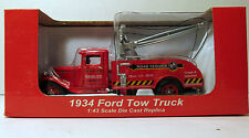 NIB Crown Premiums Snap On Tools Promo 1/43 Die Cast Red 1934 Ford Tow Truck