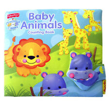 Baby Tearproof Cloth Book Fisher Price Baby Animals Counting Book