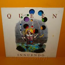 "1991 PARLOPHONE EMI RECORDS QUEEN - INNUENDO 12"" LP ALBUM VINYL RECORD RARE"