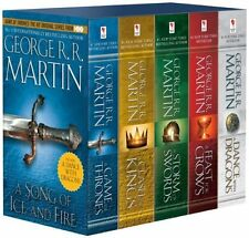 Game of Thrones 5-copy boxed set (George R. R. Martin Song of Ice and Fire...