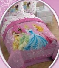Disney Princess quilt Comforter 5 pieces set sheet pillow full size bedding new