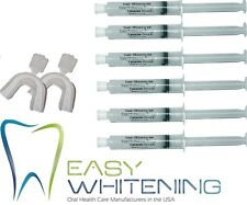60ML KIT TOOTH WHITENING TEETH-HOME BLEACHING- *6X10ML*MADE IN USA* 18% GEL-