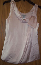 Women's Top Blouse H& M Size 4 Blush Color NEW WITH TAGS